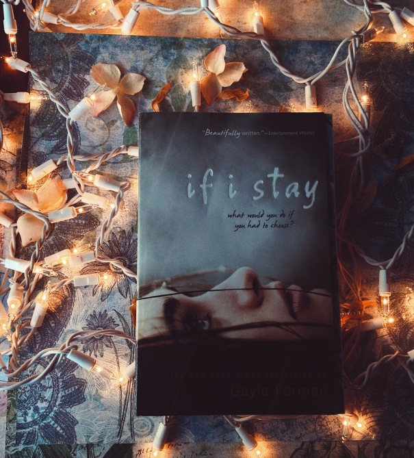 If I Stay by Gayle Forman - Book Haul allthingsnerdyfloraleblog