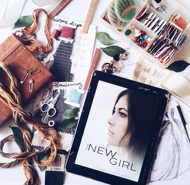 The New Girl (Webster Grove book 1) by Tracie Puckett inspired - allthingsnerdyfloraleblog
