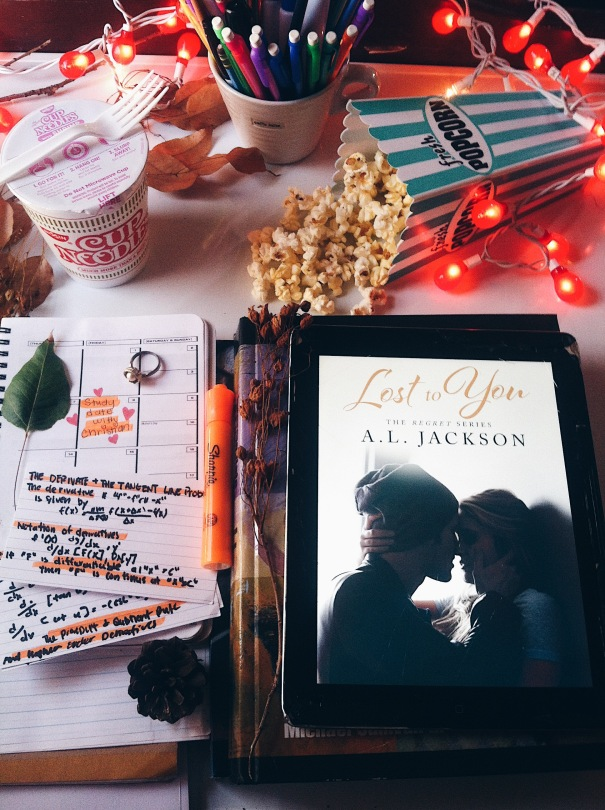 Lost to You by A.L. Jackson - book 1 of 3 in the regret series
