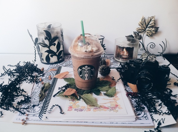 Starbucks, double chocolate chip frappuccino, Starbucks photography