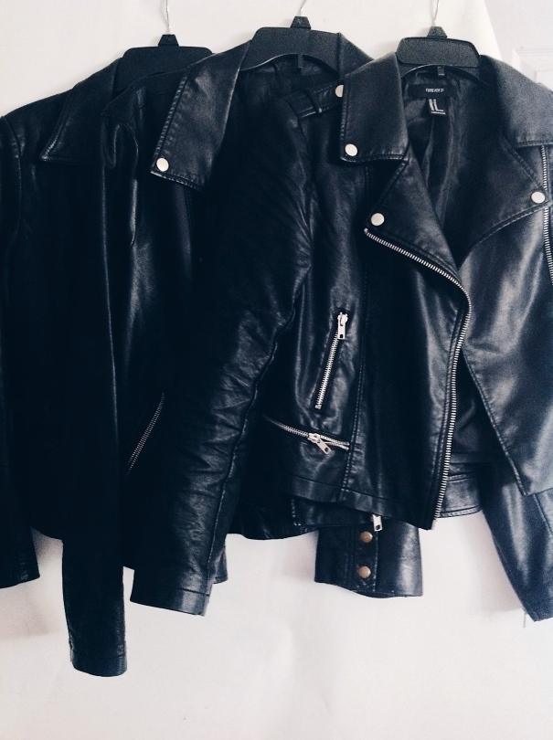 Leather Jacket Aesthetic, Leather Jacket Photography