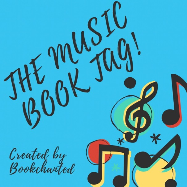 The Music Book Tag created by Bookchanted