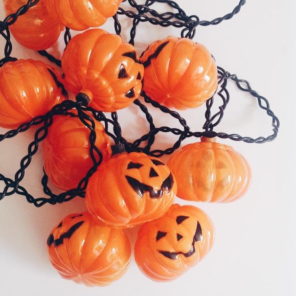 Pumpkin Lights, Fall Decor