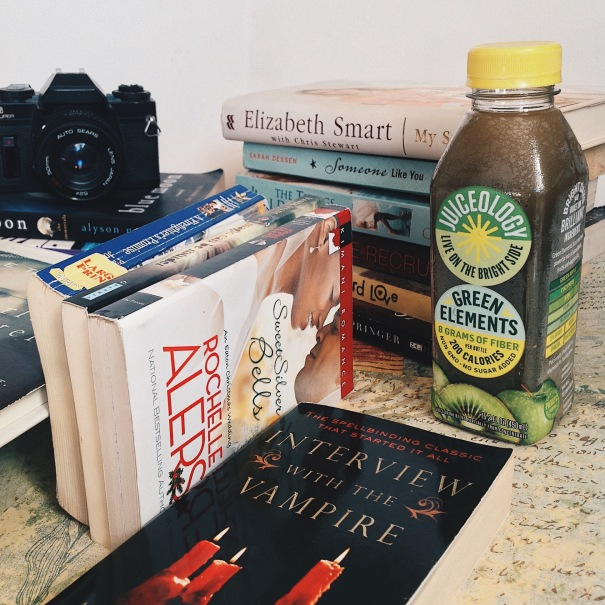 Books, Green Elements, Juiceology, Sun Chasers & Juice Makers